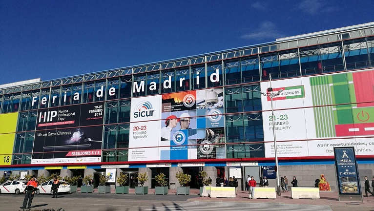 GSA First show in Madrid SICUR 2018