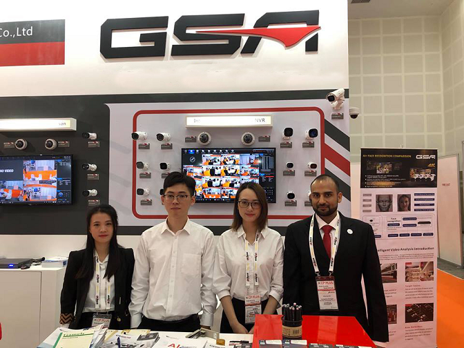 GSA made a sucessful show in Dubai Intersec 2019!